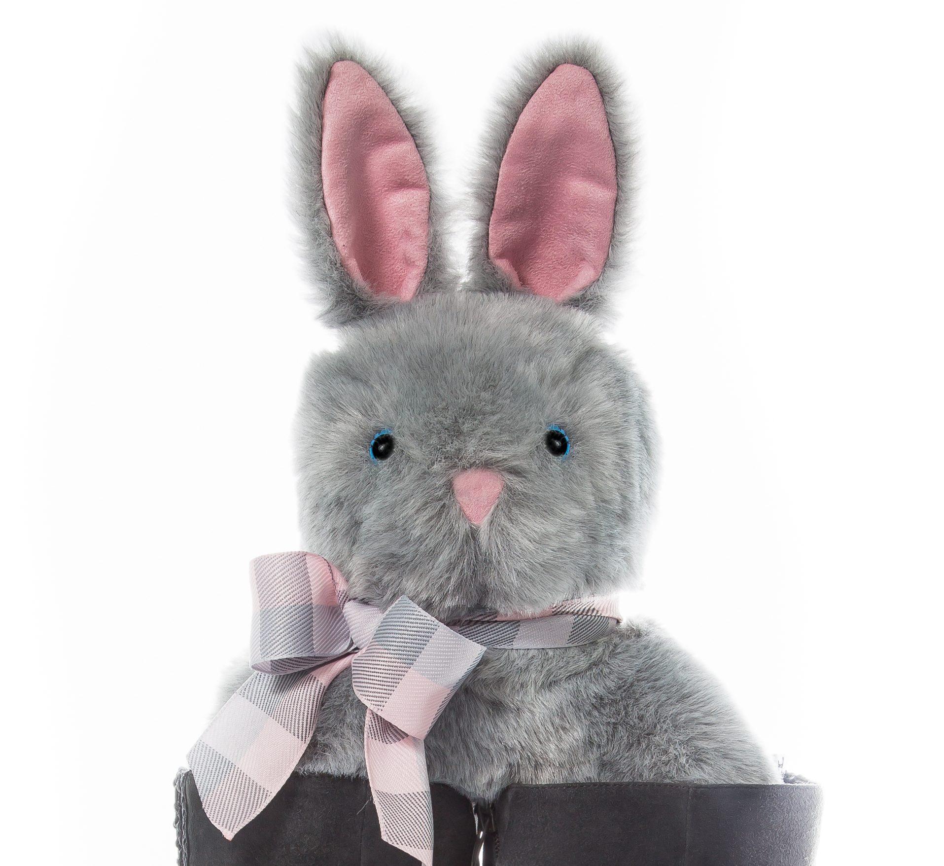 """""""Marni"""" - Gray Bunny - Bootniks"""