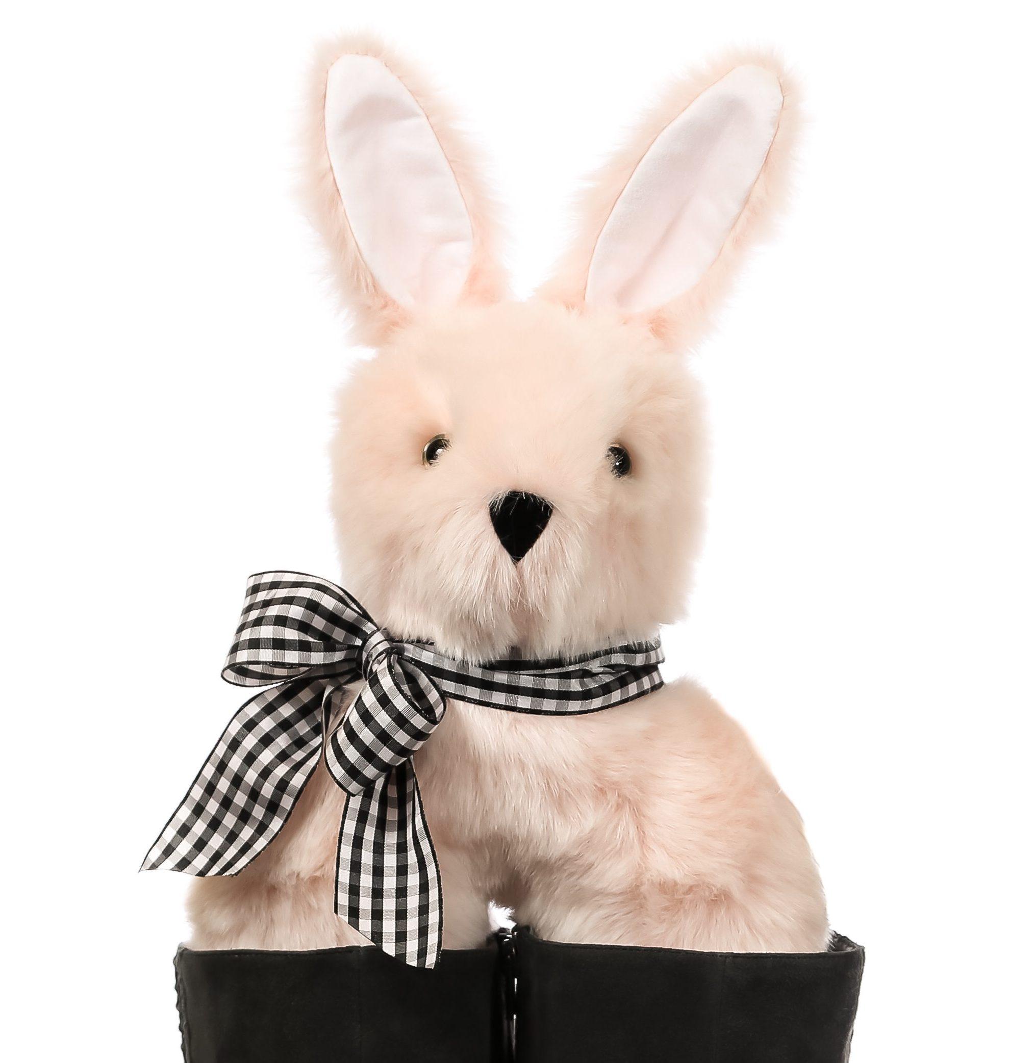 """Madison"" - Blush Pink Bunny - Bootniks"